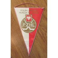 Вымпел. Федерация хоккея. Польша.