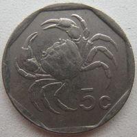 Мальта 5 центов 1995 г. (g)
