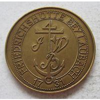 Памятная медаль в честь 250-летия основания компании Buderus