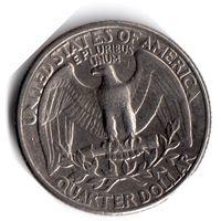 США. 1/4 доллара (1 квотер, 25 центов). 1979