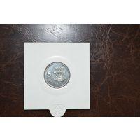 Соломоновы острова 5 центов 2005  года