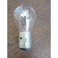 Лампочка ЯВА 6 вольт 25-25 ват