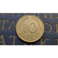10 пфеннигов 1991 (A) Германия ФРГ #10