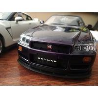 Nissan Skyline r34 (AUTOart) 1/18