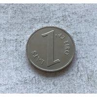 Латвия 1 лат 2013 Паритет монет