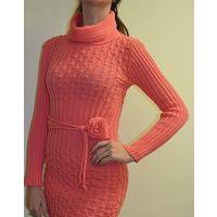 Платье вязаное р. 42-46