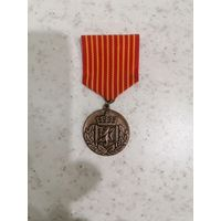 Медаль Норвежская выслуга