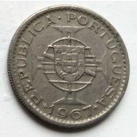 Ангола 2.5 эскудо, 1967  1-1-33