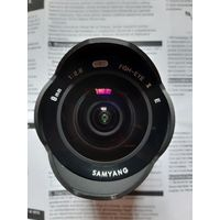Объектив Samyang 8mm f/2.8 UMC Fish-eye II для Sony E