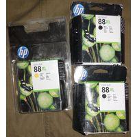 Новые Струйные картриджи HP 88XL (C9396AE) и HP 88XL (C9393AE) 15 руб. за любой