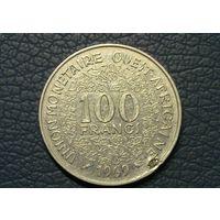 Западная Африка 100 франков 1969