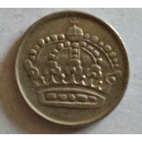 Швеция 10 эре 1958 серебро