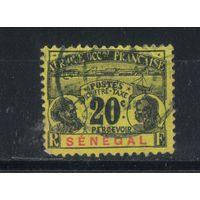 Fr Франция Колонии Сенегал Налоговые 1906 #7