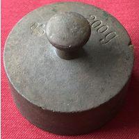 Гирька из набора. 200 грамм. Германия. Середина 20-ого века