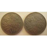 Мальта 25 центов 2001 г. Цена за 1 шт. (gl)