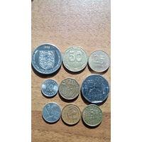 Сборка монет. Старт с 1 рубля.