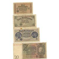 Комплект банкнот (4 шт.)