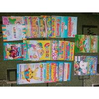 Детские журналы, раскраски и многое другое цена за всё