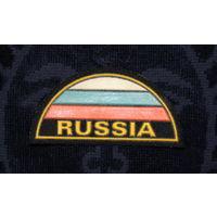 Нашивка-полукруг Россия RUSSIA