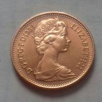 1 пенни, Великобритания 1984 г., AU