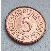 Маврикий 5 центов, 1996 7-1-6