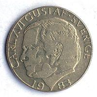 Швеция 1 крона 1983