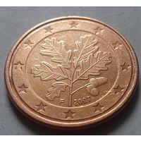 5 евроцентов, Германия 2007 F, AU