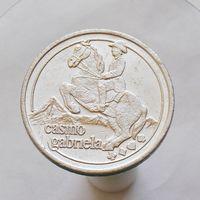 Большой жетон Casino gabriela диаметр - 38мм