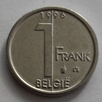 Бельгия, 1 франк 1996 г. 'BELGIE'