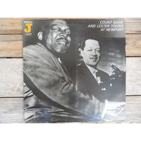 Count Basie and Lester Young at Newport - Amiga, ГДР - 1982 г. - запись 1957 г.