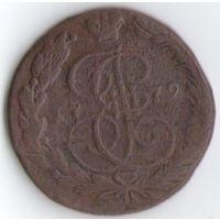5 копеек 1779 года ЕМ _состояние VF