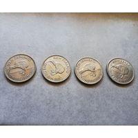 Новая Зеландия 1 Флорин 1961, 62, 64, 65 unc