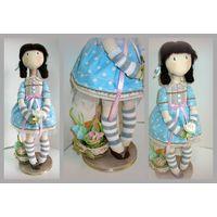 Сонечка. Текстильная интерьерная кукла ручной работы. Под заказ
