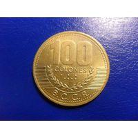 Коста-Рика 100 колон 2000 г.
