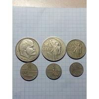 СССР. Набор юбилейных монет 1967г