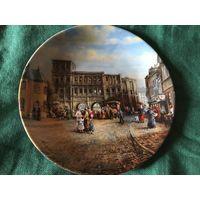 Тарелка коллекционная Прогулка Германия Bradex