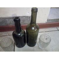Немецкие бутылки со стаканами с ПМВ