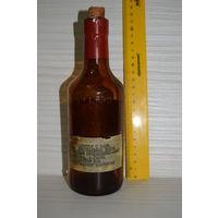 "Пустая бутылка от бальзама ""Абу Симбел"". Ретро СССР."