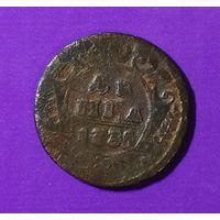 Деньга 1735 г.