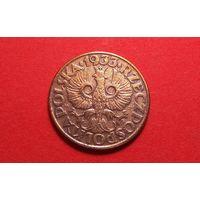 2 грош 1933. Польша. Не частая!