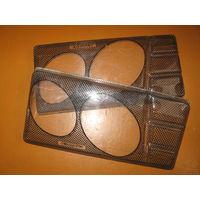 Накладки(защита)передних фар ВаЗ-2105/2107