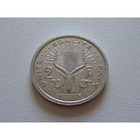 Джибути.  2 франка 1999 год  KM#21