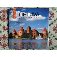 Lietuva (альбом о Литве) на английском и литовском.