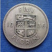 Фиджи Британская колония флорин 1936 Георг V