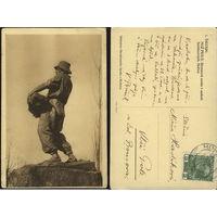 Чешская открытка нач.ХХ-го века. Австро-Венгрия. С маркой.