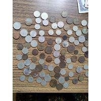 Монеты 1940-2004год СССР и другие