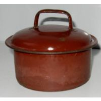Крышка от старинного бидона доалюминиевой эпохи. Раритет СССР