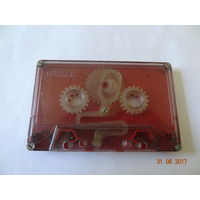 Ретро лот кассета для чистки головок магнитофонов (СССР)