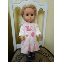 Кукла гдр 52см редкое лицо