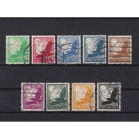 Германия рейх \43а\ 1934 529-538 гаш 4скана